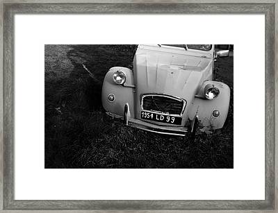 Not Dead Just Resting Framed Print by Jez C Self