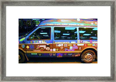 Grateful Dead - Not Fade Away Framed Print by Susan Carella