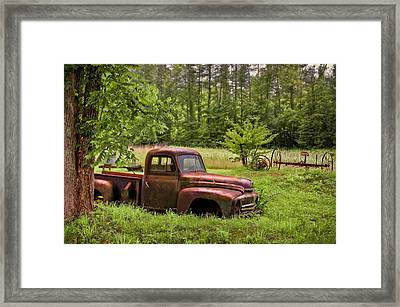 Not Forgotten Framed Print by Debra and Dave Vanderlaan