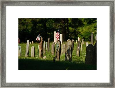 Not Forgotten Framed Print by Sam Smyth