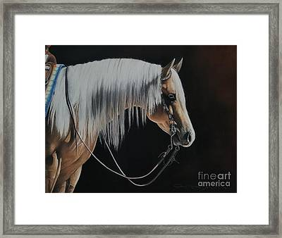 Not Just Another Pretty Face  Framed Print