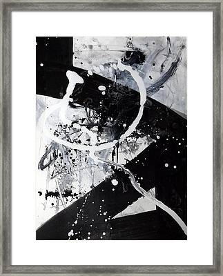 Not Just Black And White2 Framed Print