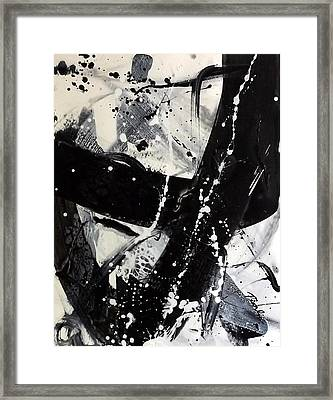 Not Just Black And White3 Framed Print