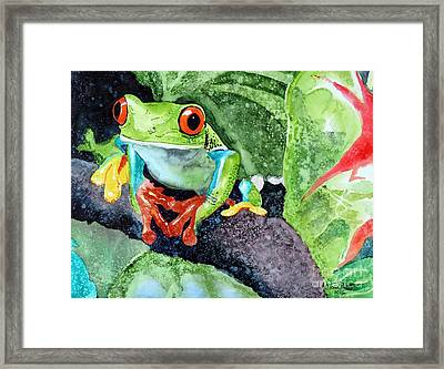 Not Kermit Framed Print by Tom Riggs