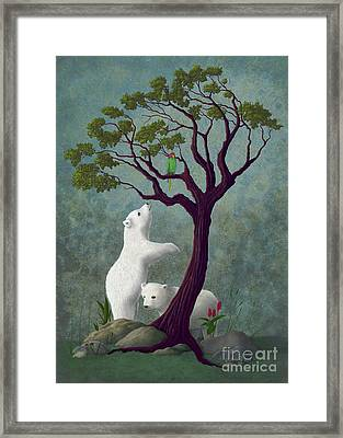 Not Like Home Framed Print by Audra Lemke