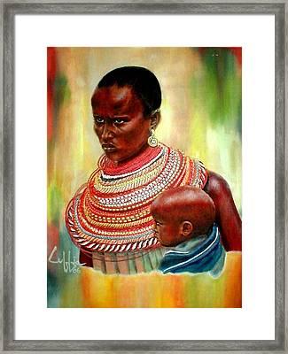 Not My Son Framed Print by G Cuffia
