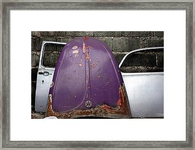 Not Quite A Match Framed Print by Jez C Self
