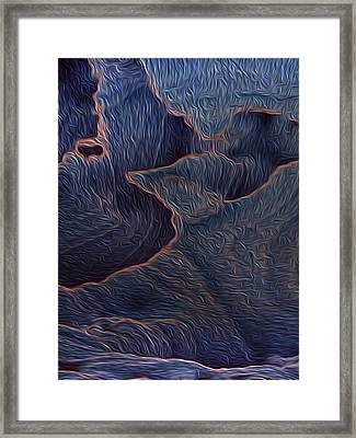 Not So Distant Land 5 Framed Print