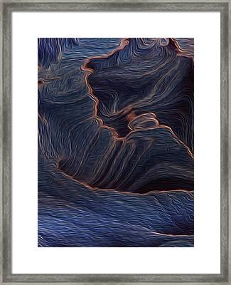 Not So Distant Land 6 Framed Print