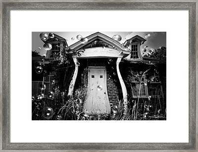 Not So Fun House Framed Print by Melissa Wyatt