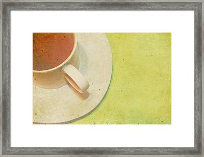 Not Starbucks II Framed Print by Rebecca Cozart