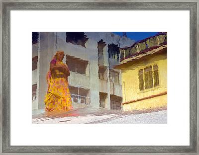 Not Sure Framed Print by Prakash Ghai