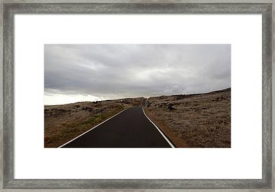 Not The Destination  Framed Print by JAMART Photography