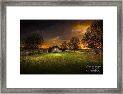 Not The Last Storm Framed Print by Marvin Spates