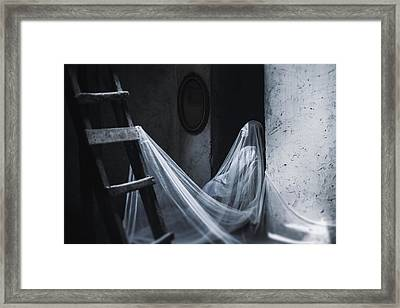 Not The One Who Loves Me Framed Print by Art of Invi