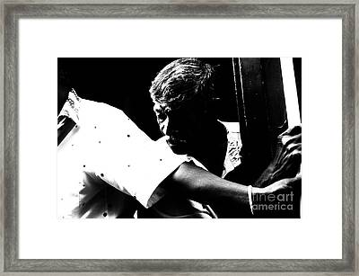 Not To Be Anywhere Framed Print by Venura Herath