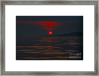 Not Tropical Framed Print by Rick  Monyahan