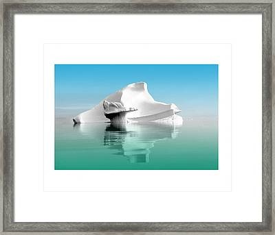 Not Without Life Framed Print
