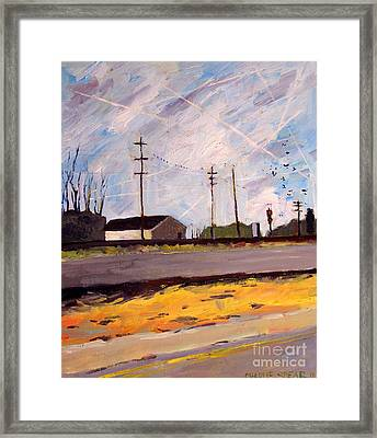 Not Your Grandfathers Skies Framed Print by Charlie Spear