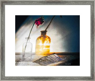 Notes Forgotten Framed Print by Bob Orsillo
