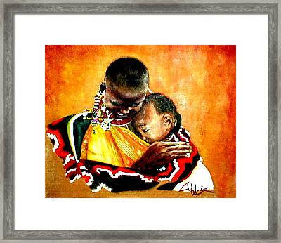 Nothin Else Matters Framed Print by G Cuffia