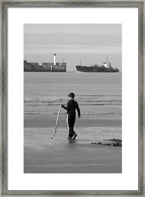 Nothing Here Framed Print by Jez C Self