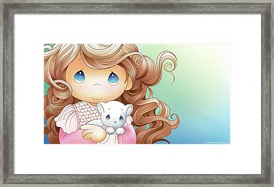 Nothing Is Sweeter Than A Friend Framed Print by Precious Moments