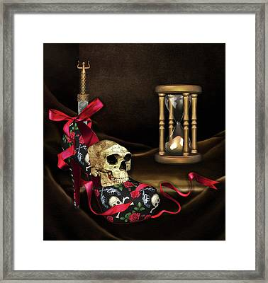Nothing Lasts Forever Framed Print by Georgiana Romanovna