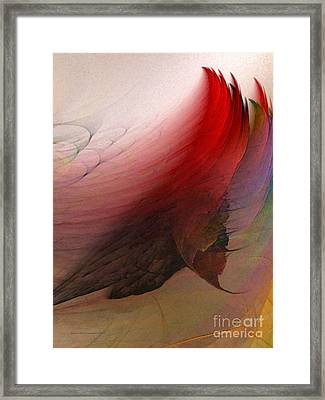 Nothing Lasts Framed Print by Karin Kuhlmann