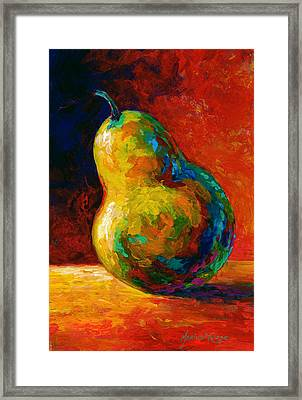 Nothing Pearsonal Framed Print by Marion Rose