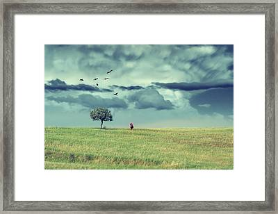 Nothing Remains As It Was Framed Print