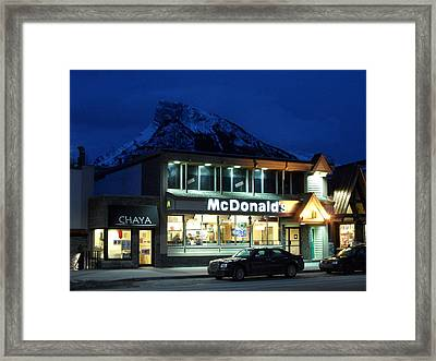 Nothing Sacred Framed Print