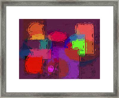 Nothing Ventured Nothing Gained Framed Print