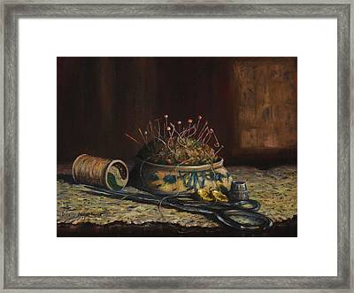 Notions Framed Print