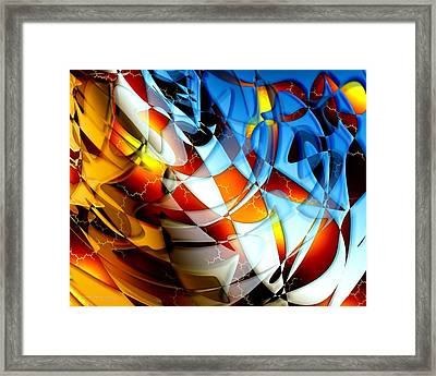 Notions Framed Print by Dreamlight  Creations