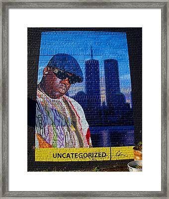 Notorious B.i.g. Framed Print