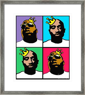 Notorious Thugs Framed Print by Stanley Slaughter Jr