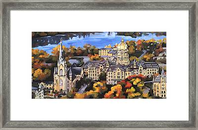 Notre Dame Framed Print