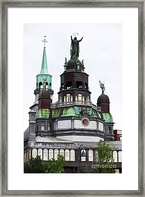 Notre-dame-de-bon-secours Chapel  Framed Print by John Rizzuto