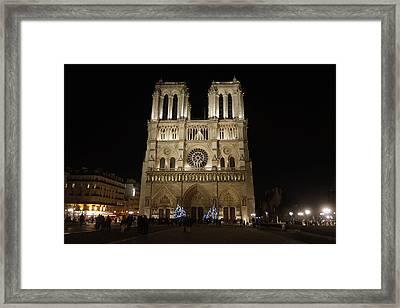 Notre Dame De Paris Framed Print by Erik Tanghe