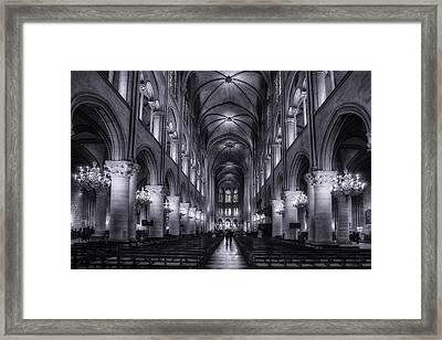 Notre Dame - Paris Framed Print by Andrew Soundarajan