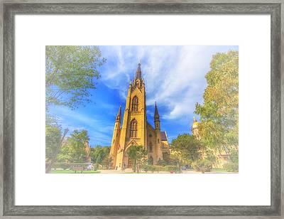 Notre Dame University 5 Framed Print by David Haskett