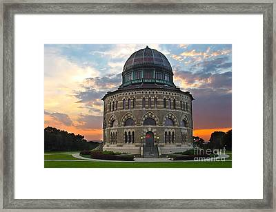 Nott Sunset Framed Print