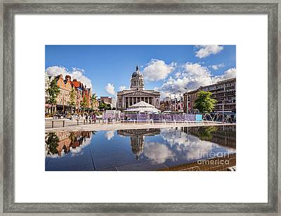 Nottingham, England Framed Print by Colin and Linda McKie