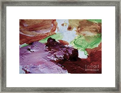 Nougat Valley Framed Print