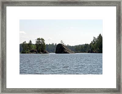 Nouskivi Rock Framed Print