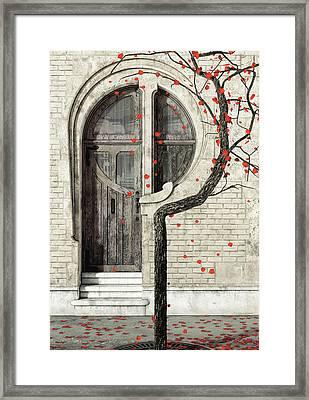 Nouveau Framed Print