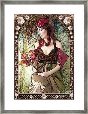Nouveau Framed Print by John Edwards
