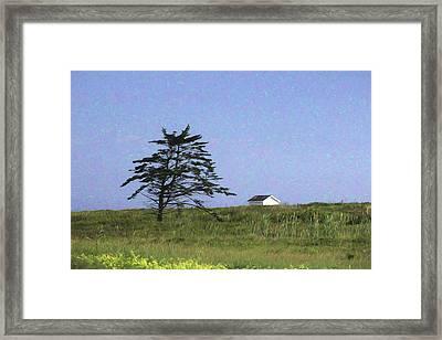 Nova Scotia Landscape Framed Print