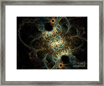 Novae II Framed Print by Sandra Hoefer